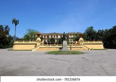 Rio de Janeiro, January 10, 2010. Municipal Park of Quinta da Boa Vista.Museu Nacional.Local Historico where the Royal Family lived in the 19th century.Located in the northern part of the city of Rio
