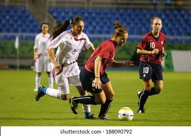 RIO DE JANEIRO, July 25, 2007 PAN AMERICAN GAMES RIO DE JANEIRO (SOCCER Women) USA AND PARAGUAY