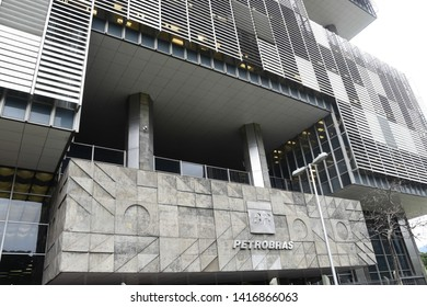 RIO DE JANEIRO, RJ, NOVEMBER, 06, 2018: The Petrobras headquarters is a publicly-held company, the majority shareholder of which is the Government in the center of the city of rio de janeiro of Brazil