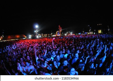 RIO DE JANEIRO, September 23, 2011 - Singer Ke$ha  the show, during the Rock in Rio. in Rio de Janeiro ,