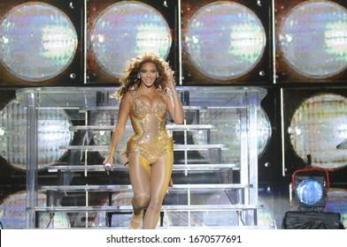 Rio de Janeiro-Brazil 18 october of 2011 show of BEYONCE,