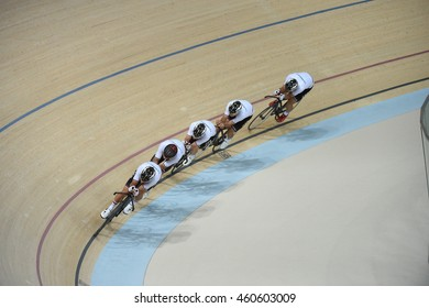 Rio de Janeiro-Brazil 29 July 2016 Cycling Team Germany in the 2016 Olympic Games