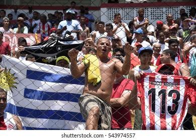 Rio de Janeiro-Brazil December 27, 2017. Presentation of soccer player Loco Abreu, in the team of Bangu to play the championship Carioca