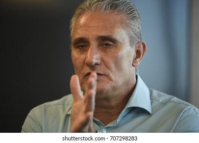 Rio de Janeiro-Brazil January 19, 2017, TITE (coach of the Brazilian national soccer team)