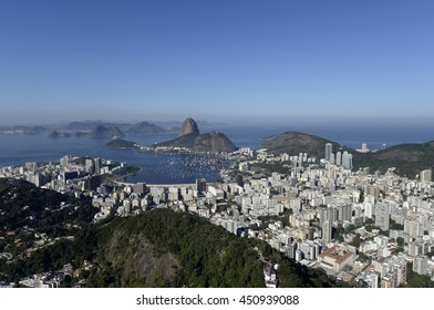 Rio de Janeiro-Brazil July 10, 2016, Sugar Loaf, seen from the viewpoint