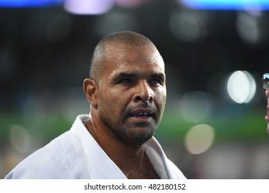 Rio de Janeiro-Brazil, September 10th, 2016 Paralympic Games in 2016, judo sport