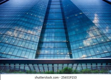 RIO DE JANERO, BRAZIL - APRIL 21, 2013: Petrobras Headquarters is the tallest commercial building in Latin America.