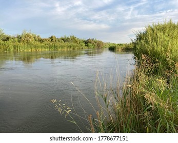 The Rio Grande in Anthony, Texas