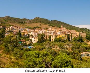 Rio nell'Elba, Island of Elba, Tuscany, Italy