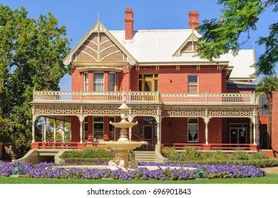 Rio Vista historic house used to be the home of William Benjamin Chaffey - Mildura, Victoria, Australia, 8 February 2013