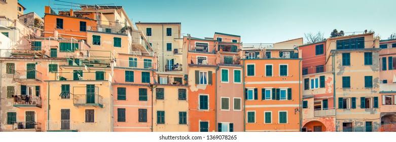 Riomaggiore, Cinque Terre (Italian Riviera Liguria), Italy - famous italian travel destinations