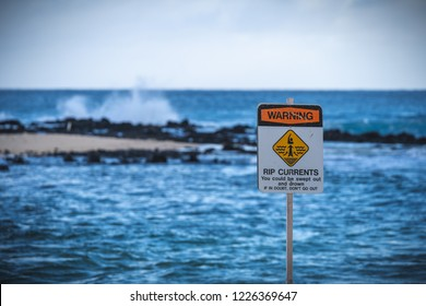 Rip currents sign