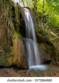 Ripaljka waterfall cascades in Ozren mountain near Sokobanja in Eastern Serbia - Shutterstock ID 1973884880