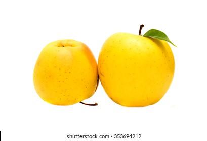 ripe apple closeup