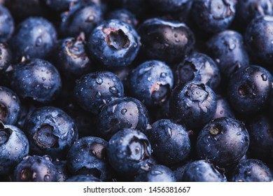 ripe blueberry berries background. healthy food