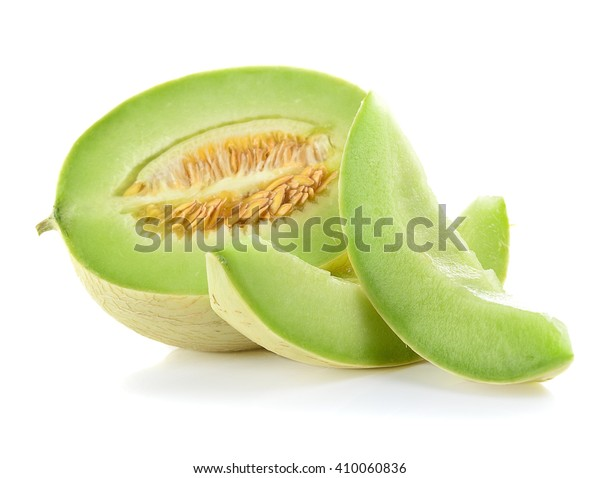 Ripe Cantaloupe Melon On White Background Stock Photo Edit Now 410060836 Once the cantaloupe has reached its peak ripeness, refrigeration is mandatory. shutterstock