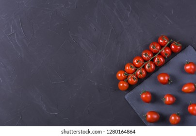 Ripe cherry tomatoes for use as cooking ingredients