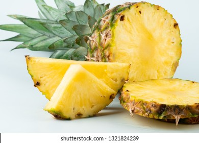 ripe and fresh pineapple