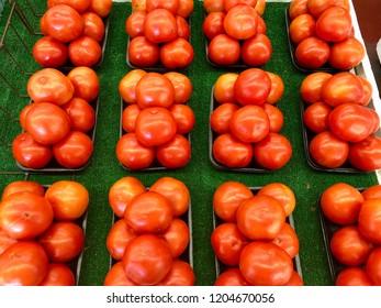 Ripe Jersey tomatoes