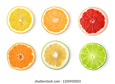 ripe lemon fruit isolated on white background