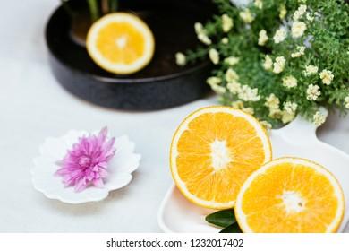 Ripe Navel orange