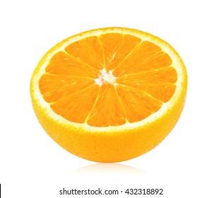 ripe orange slice