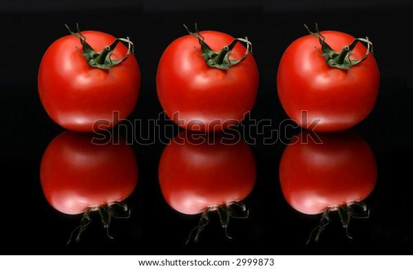 ripe red cherry-tomatoes
