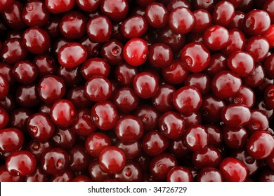 The ripe washed out cherry. High-resolution background for large-format print