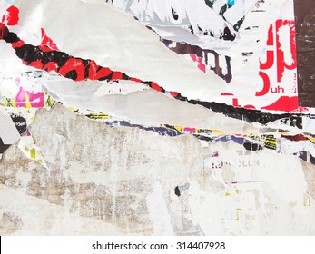 ripped poster, background texture
