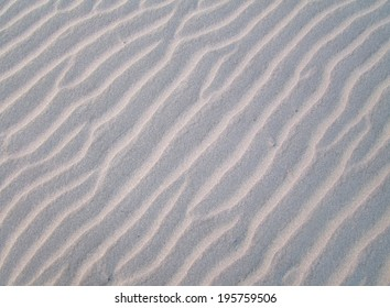 Ripple texture in dry beach sand