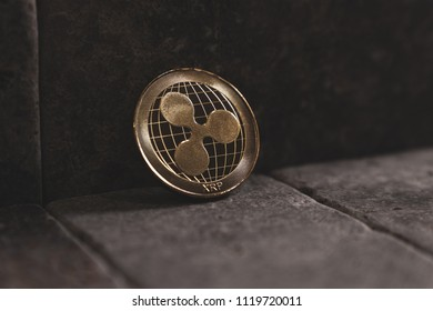 Ripple XRP cryptocurrency coin
