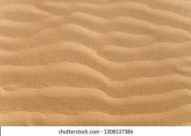 Rippled sand texture and background
