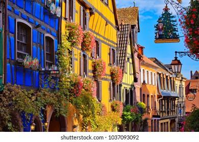Riquewihr, Haut-Rhin, Alsace, France