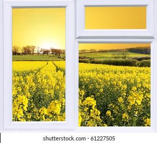 Rise and Shine Modern Window Frame