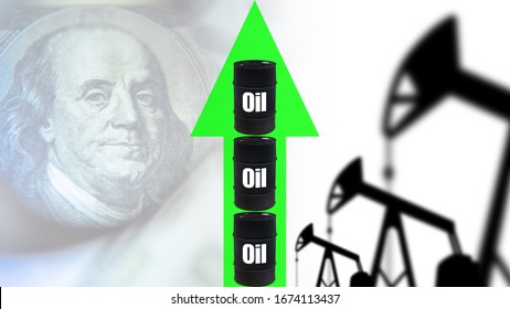 Rising crude oil prices. Growth of quotations on the world fuel market. Increase in oil production. Growing fuel market. The increase in supply of oil. Rise in price of petroleum products.
