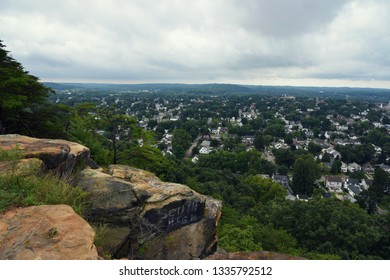 Rising park, view from the cliff