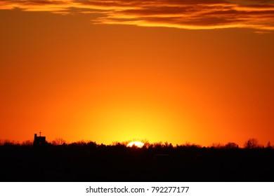 Rising Sun Horizon