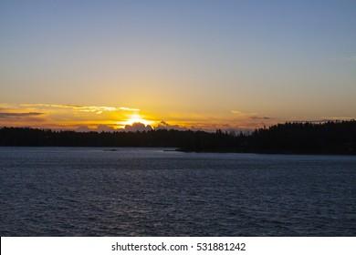 Rising.Stockholm archipelago