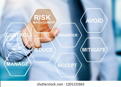 risk manager making risk management choice