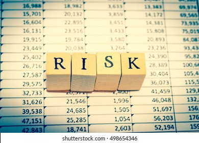 RISK on spreadsheet