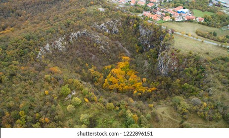 Risnik near Skocjan Caves (Škocjanske Jame) and Divaca (Divača) is one of the biggest a collapse dolines (collapse sinkhole) in Dinaric karst of Slovenia.