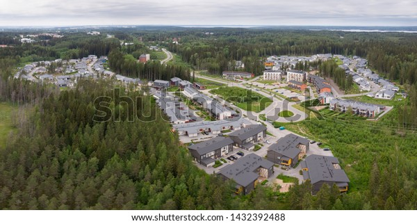 Risso is one of the newest suburb areas in Tampere, Finland. This area will will grow on near future when Lammirahka-Ojala area begins to built up to Risso