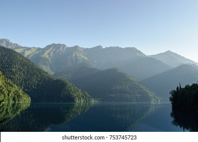 Ritsa lake in Abkhazia