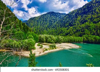 Ritsa lake,Abkhazia