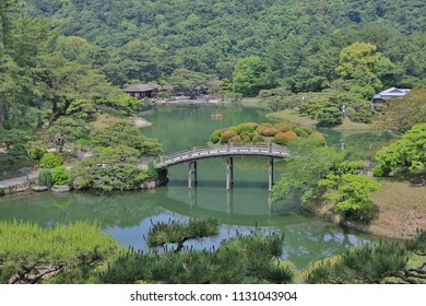 a Ritsurin Garden Kagawa Prefecture at Japan