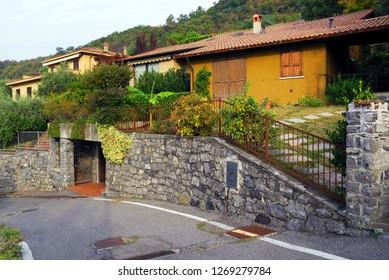 Riva di Solto Resort, Iseo Lake, Italy, Europe