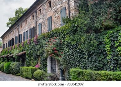 Rivalta Trebbia (Piacenza, Emilia Romagna, Italy): the historic castle