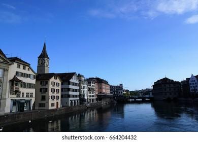 River in Zürich
