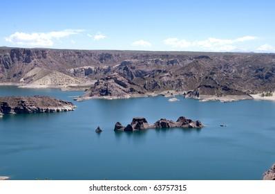 river Atuel, San Rafael, Mendoza, Argentina