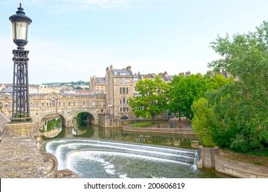River Avon in Bath, Somerset, England